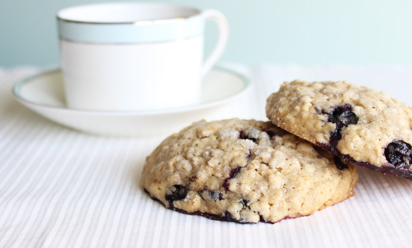 Blueberry Scone Cookies La Casa de Sweets