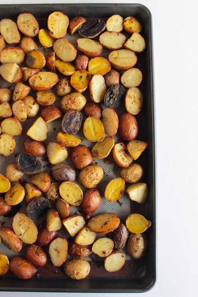 brown butter potatoes sm2